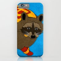 iPhone & iPod Case featuring Raccoon by subpatch