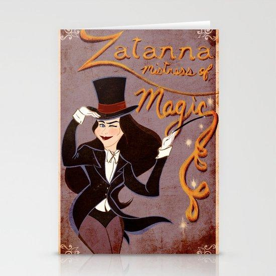 Zatanna! Mistress of Magic! Stationery Card