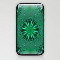 Seafoam Bursts - HS Seri… iPhone & iPod Skin