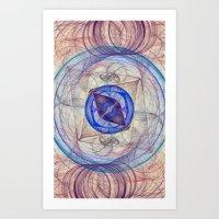 Retina Nebula  Art Print