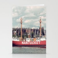 Nantucket Light Ship Stationery Cards