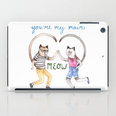 You're My Main Meow iPad Case