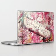 Laptop & iPad Skin featuring Broadway by LebensART