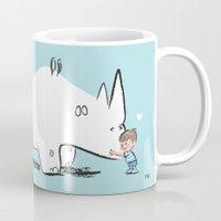 Mr. White Rhino Gets A H… Mug