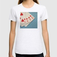 A Full House Womens Fitted Tee Ash Grey SMALL