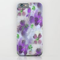 Field Of Purple Flowers iPhone 6 Slim Case
