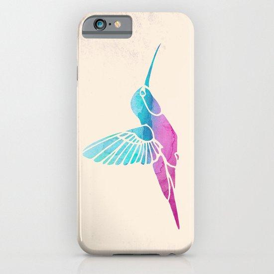 Watercolor Hummingbird iPhone & iPod Case