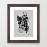 30 Days Framed Art Print