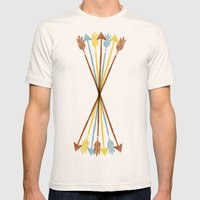 Everywhere Always Mens Fitted Tee Natural SMALL