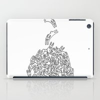 Pile of Rabbits iPad Case