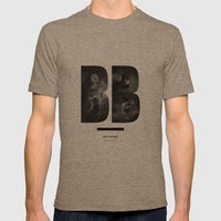 BIG BANG Mens Fitted Tee Tri-Coffee SMALL
