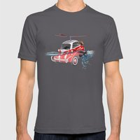 Isetta  all terrain vehicle Mens Fitted Tee Asphalt SMALL