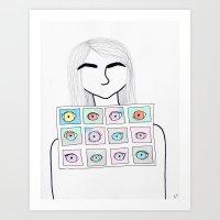 excess Art Print