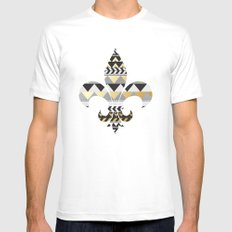 The Royal Treatment White Mens Fitted Tee SMALL