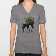 Watering (A Life Into It… Unisex V-Neck