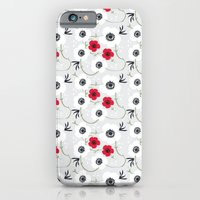 Anemone Print iPhone 6 Slim Case