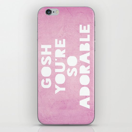 Gosh, Adorable iPhone & iPod Skin