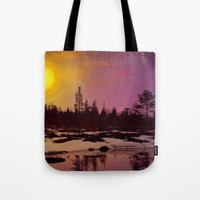 Day - From Day And Night Painting Tote Bag