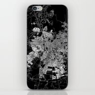 Santiago Map Chile iPhone & iPod Skin