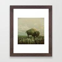 Marvin III Framed Art Print