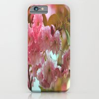iPhone Cases featuring Cherry Blossoms by Judy Palkimas