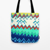 Rad Pattern Tote Bag