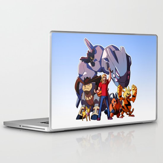 Pokemon Avengers-Thor Laptop & iPad Skin