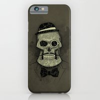 iPhone & iPod Case featuring Old Skull by Tomas Jordan