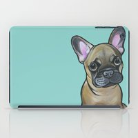 Armand the Frenchie Pup iPad Case