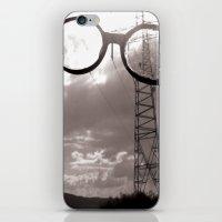 Giants In The Sky iPhone & iPod Skin