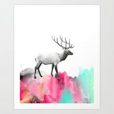 Wild No. 2 // Elk Art Print
