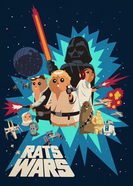 Star Wars FanArt: Rats Wars Art Print