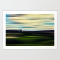 A Ball Of Loneliness In … Art Print