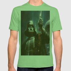 Darth Vader Vintage Mens Fitted Tee Grass SMALL