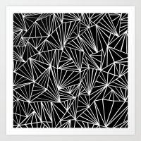 Ab Fan #2 Art Print