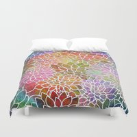 Floral Abstract 6 Duvet Cover