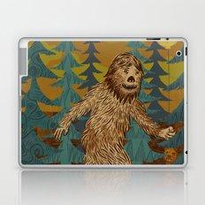 Bigfoot birthday card Laptop & iPad Skin