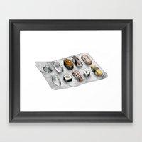 Pharmasushi Framed Art Print