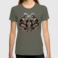Ink blot v1 Womens Fitted Tee Lieutenant SMALL