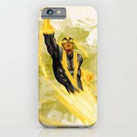 iPhone & iPod Case featuring Black Vulcan by Reg Lapid