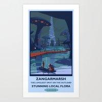Zangarmarsh Classic Rail… Art Print
