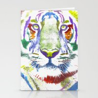 ROAR (tiger Color Versio… Stationery Cards