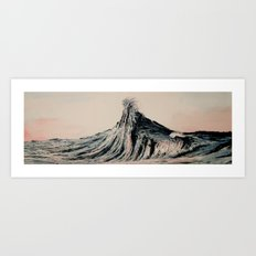 The WAVE #2 Art Print