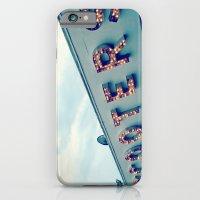 Scooters ~ vintage carnival sign ~ lights iPhone 6 Slim Case