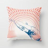 Exercise One Throw Pillow