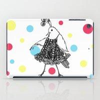 Dame Oiselle / Birdy iPad Case