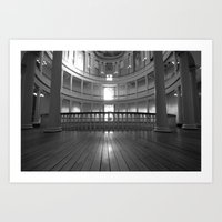 Inside the Courthouse Art Print