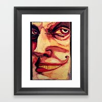 Barker Framed Art Print