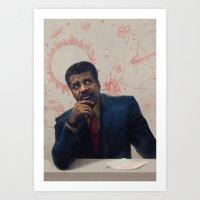 Neil Degrasse Tyson Port… Art Print