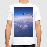 My Wing Tip Mens Fitted Tee White SMALL